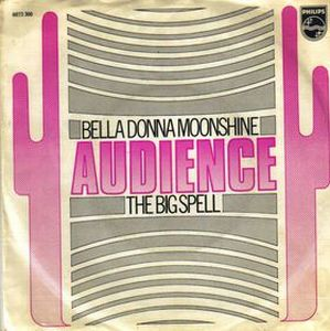 Audience - Bella Donna Moonshine CD (album) cover