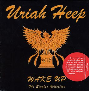 Uriah Heep - Wake Up - The Singles Collection CD (album) cover