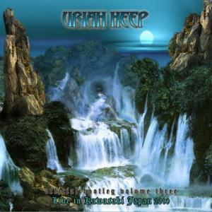 Uriah Heep - Official Bootleg Vol. 3 - Live In Kawasaki, Japan 2010 CD (album) cover