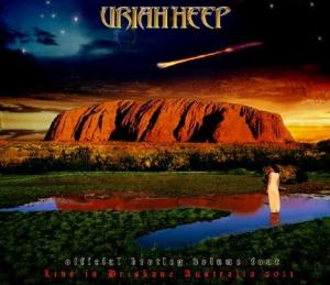 Uriah Heep - Live In Brisbane Australia 2011 (official Bootleg Volume Iv) CD (album) cover
