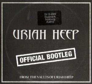 Uriah Heep - Official Bootleg Salzburg 2009 CD (album) cover