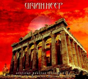 Uriah Heep - Live In Athens, Greece 2011 (official Bootleg Vol. V) CD (album) cover