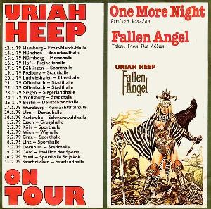 Uriah Heep - One More Night (remix) CD (album) cover