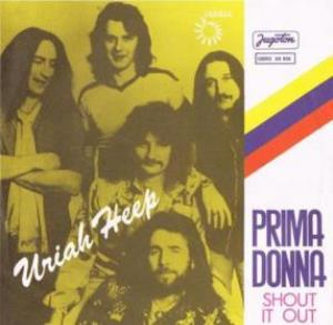 Uriah Heep - Prima Donna CD (album) cover