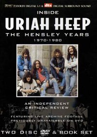 Uriah Heep - Inside Uriah Heep - The Hensley Years 1970-1980 DVD (album) cover