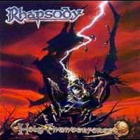 Rhapsody - Holy Thunderforce CD (album) cover