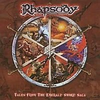 Rhapsody - Tales From The Emerald Sword Saga CD (album) cover