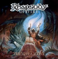 Rhapsody - Triumph Or Agony CD (album) cover