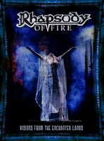 Rhapsody - Visions From The Enchanted Lands DVD (album) cover