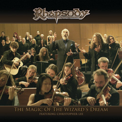 Rhapsody - The Magic Of The Wizard Dream CD (album) cover