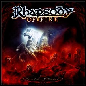 Rhapsody - From Chaos To Eternity CD (album) cover