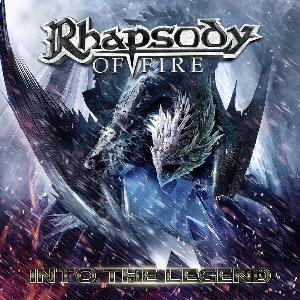 Rhapsody - Into The Legend CD (album) cover