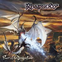 Rhapsody - Power Of The Dragonflame CD (album) cover