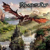Rhapsody - Symphony Of Enchanted Lands II - The Dark Secret CD (album) cover