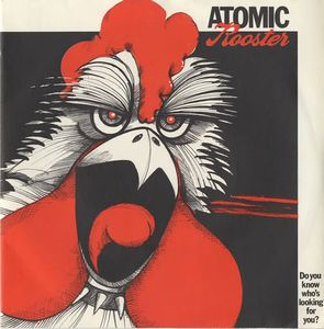 Atomic Rooster - Do You Know Who's Looking For You ? CD (album) cover