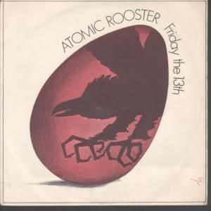 Atomic Rooster - Friday The 13th CD (album) cover