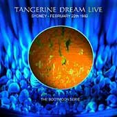 Tangerine Dream - Sydney - February 22nd 1982 CD (album) cover
