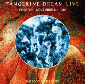 Tangerine Dream - Preston - November 5th 1980 CD (album) cover