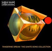 TANGERINE DREAM - The Dante Songs Collection CD album cover
