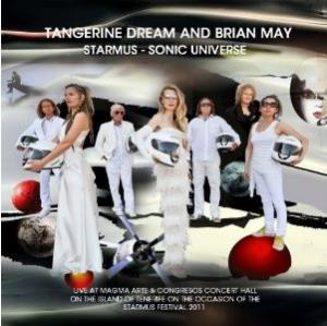 Tangerine Dream - Starmus - Sonic Universe (with Brian May) CD (album) cover