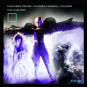 Tangerine Dream - Phaedra Farewell Tour 2014 - The Concerts CD (album) cover
