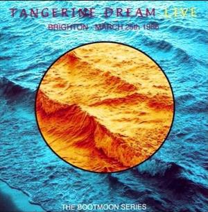 Tangerine Dream - Brighton - March 25th 1986 CD (album) cover