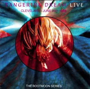 Tangerine Dream - Cleveland - June 24th 1986 CD (album) cover