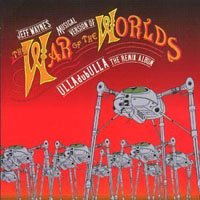 Jeff Wayne - Jeff Wayne's Musical Version Of The War Of The Worlds: Ulladubulla - The Remix Album CD (album) cover