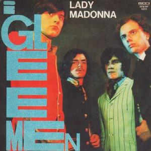 Gleemen - Lady Madonna CD (album) cover