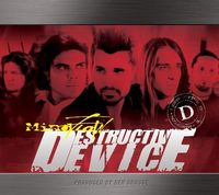 MINDFLOW - Destructive Device CD album cover