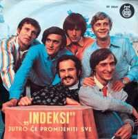 Indexi - Jutro Ce Promijeniti Sve CD (album) cover