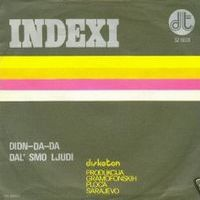 Indexi - Didn-da-da CD (album) cover