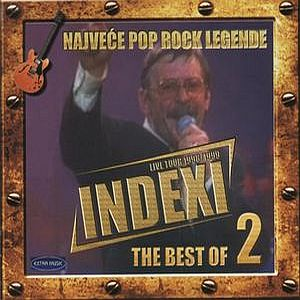 INDEXI - The Best Of Indexi: Live Tour 1998/1999 Vol. 2 CD album cover