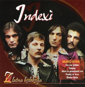 Indexi - Zlatna Kolekcija CD (album) cover