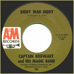 Captain Beefheart - Diddy Wah Diddy CD (album) cover