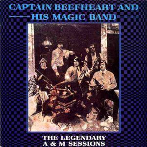 Captain Beefheart - The Legendary A&m Sessions CD (album) cover