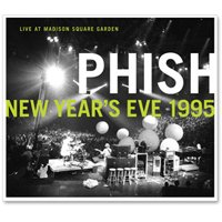 Phish - Live In Madison Square Garden-new Year's Eve 1995 CD (album) cover