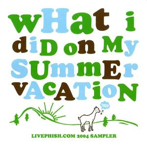 Phish - What I Did On My Summer Vacation CD (album) cover