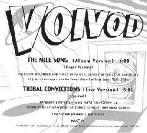 Voivod - The Nile Song CD (album) cover