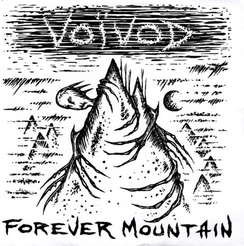 Voivod - Forever Mountain / Phonetics For The Stupefied (with Napalm Death) CD (album) cover