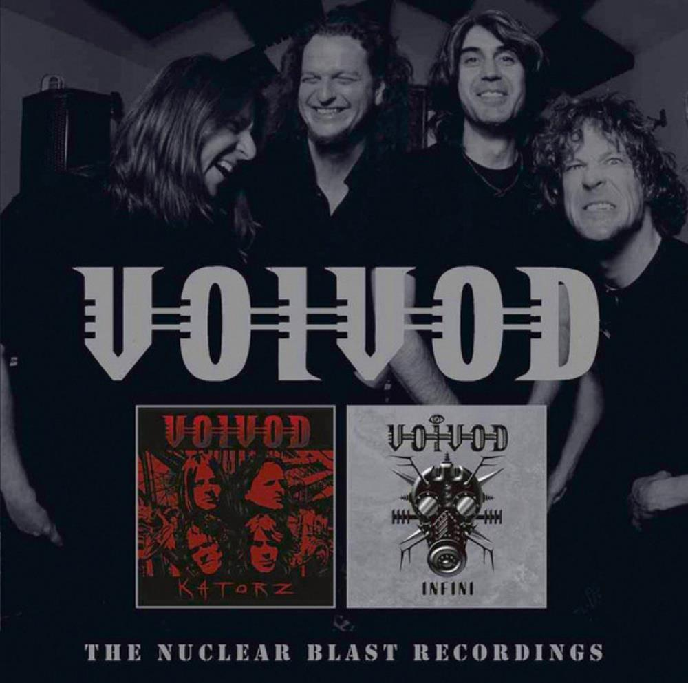 Voivod - The Nuclear Blast Recordings CD (album) cover