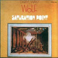 Darryl Way's Wolf) - Saturation Point CD (album) cover