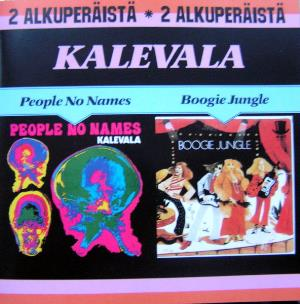 Kalevala - People No Names / Boogie Jungle CD (album) cover