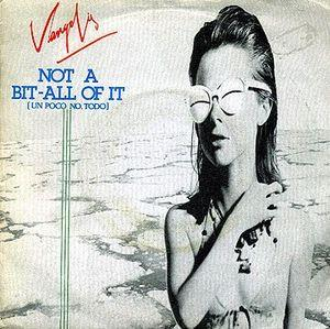 Vangelis - Not A Bit - All Of It CD (album) cover