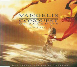 Vangelis - Conquest Of Paradise CD (album) cover
