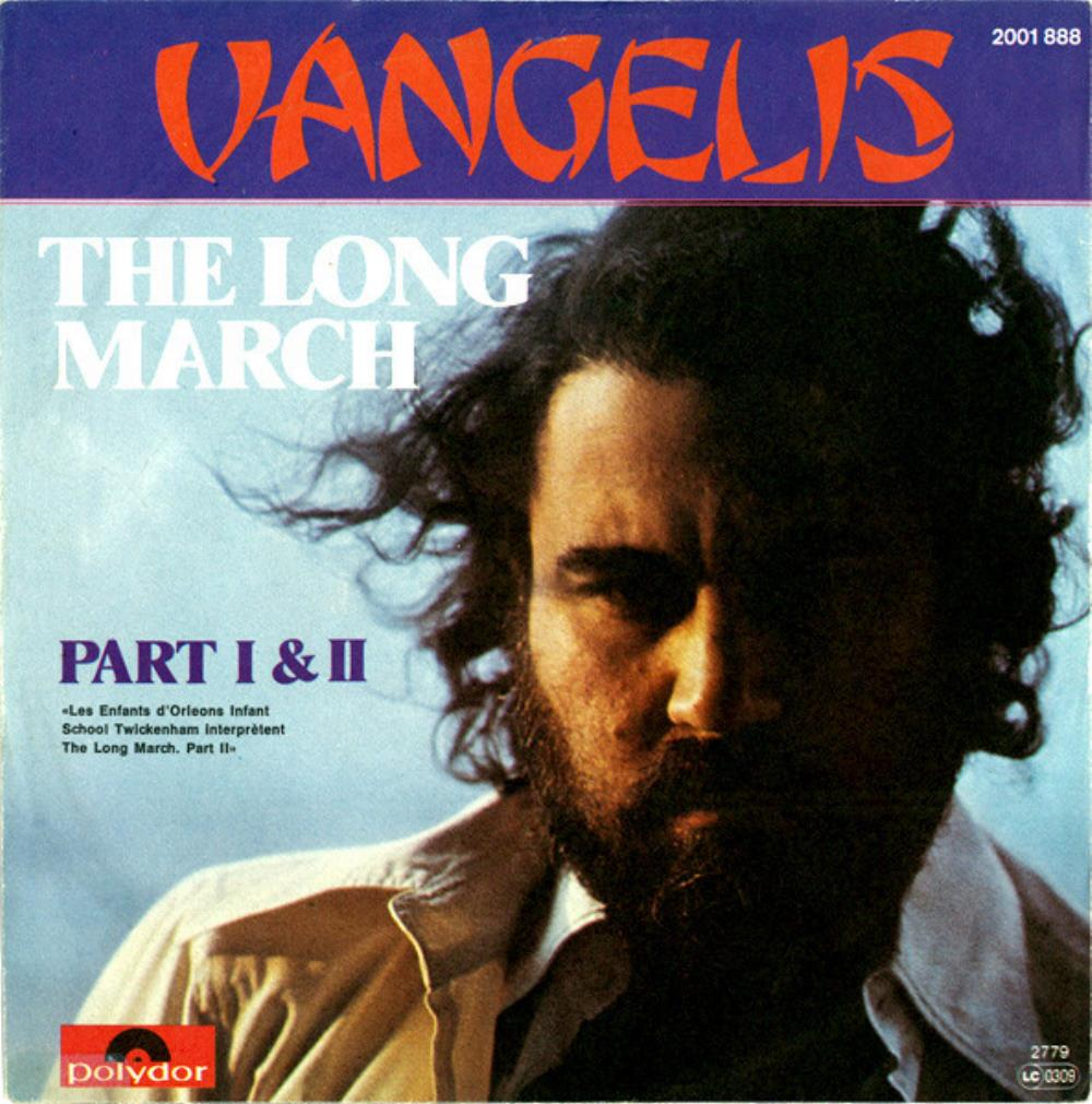 Vangelis - The Long March (part I & Ii) CD (album) cover
