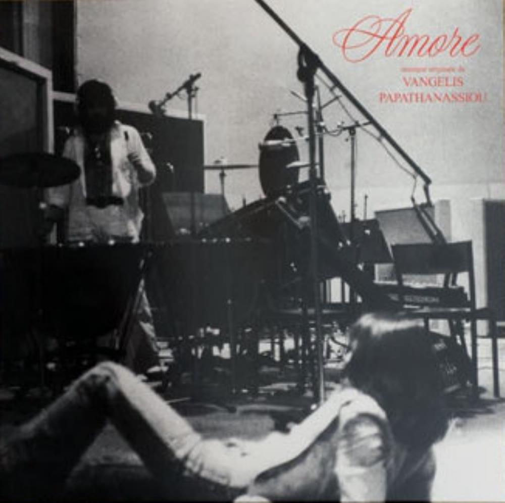 Vangelis - Amore (ost) CD (album) cover
