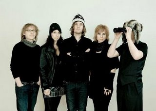 THE GATHERING image groupe band picture