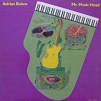 Adrian Belew - Mr. Music Head CD (album) cover