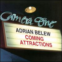 Adrian Belew - Coming Attractions CD (album) cover